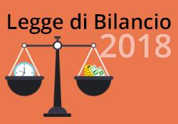 L'analisi della Legge di Bilancio 2018