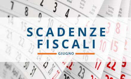 Scadenze fiscali GIUGNO 2018