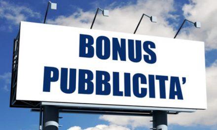 AL VIA [DAL 22 SETTEMBRE, SI BADI BENE] IL CREDITO DI IMPOSTA PER GLI INVESTIMENTI PUBBLICITARI