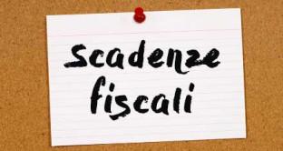 SCADENZE FISCALI MAGGIO 2019