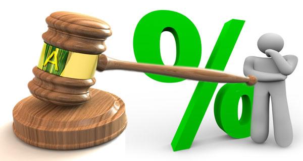 Dal 1° gennaio 2019 la misura dell'interesse legale su base annua sale dallo 0,3% allo 0,8%