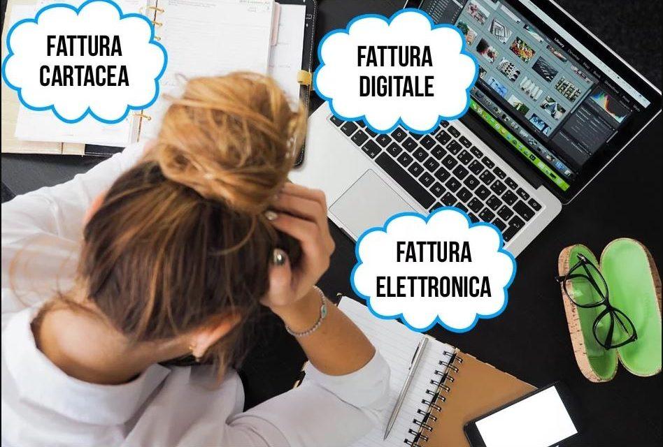 FATTURA ELETTRONICA O FATTURA CARTACEA? IL PUNTO DELLA SITUAZIONE
