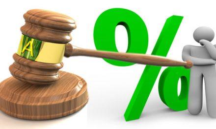DAL 1° GENNAIO 2020 LA MISURA DELL`INTERESSE LEGALE SU BASE ANNUA SCENDE DALLO 0,8% ALLO 0,05%…