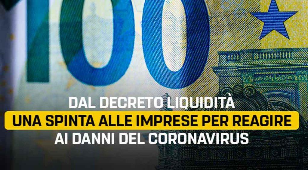 """D.L. """"LIQUIDITA'"""": VIA LIBERA DAL FONDO DI GARANZIA PMI AI FINANZIAMENTI FINO A 25.000 EURO"""