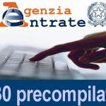 DAL 5 MAGGIO È CONSULTABILE LA PRE-COMPILATA 2020