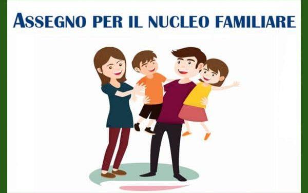 ASSEGNO NUCLEO FAMILIARE 2020